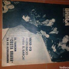 Coleccionismo deportivo: REVISTA BARÇA 15 AGOST 1972. Lote 213896073