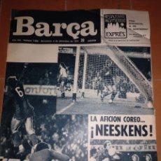 Coleccionismo deportivo: REVISTA BARÇA 2 DICIEMBRE 1975.NEESKENS. Lote 213896165
