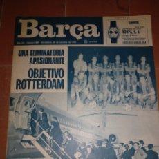 Coleccionismo deportivo: REVISTA BARÇA 22 OCTUBRE 1974. Lote 213896482
