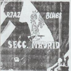 Colecionismo desportivo: FANZINE SECCIÓN MADRID Nº1 FEBRERO 01 RIAZOR BLUES DEPORTIVO LA CORUÑA ULTRAS HOOLIGANS. Lote 223803406