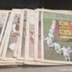 Coleccionismo deportivo: REALMADRID.....COLECCIONABLE A.B.C...EL REALMADRID CAMPEON DE EUROPA.......34 CUADERNILLOS.... Lote 214084511