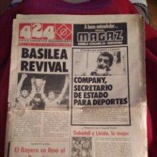 Coleccionismo deportivo: DIARIO DEPORTIVO 424. SEPTIEMBRE 1979. BARCELONA.. Lote 214139788
