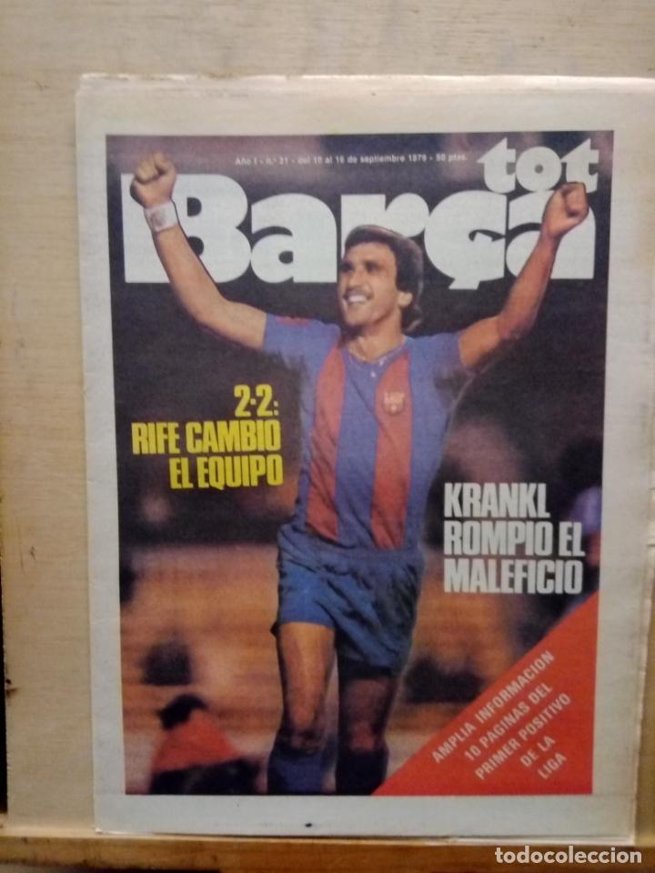 TOT BARÇA 1979 (Coleccionismo Deportivo - Revistas y Periódicos - otros Fútbol)
