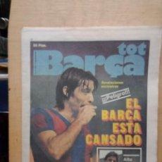 Coleccionismo deportivo: TOP BARÇA 1979. Lote 214315903