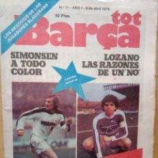 Coleccionismo deportivo: TOP BARÇA 1979. Lote 214318400