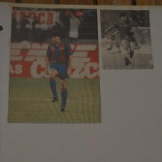Collezionismo sportivo: RECORTE DE DIARIOS DEPORTIVOS.FC BARCELONA.NANDO.2 FOTOGRAFIAS. Lote 214576325