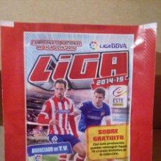 Collectionnisme sportif: SOBRE DE FUTBOL LIGA 2014 2015 SIN ABRIR ESTE PANINI. Lote 214754090