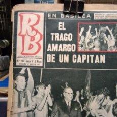 Coleccionismo deportivo: REVISTA BARCELONISTA N.217 1969. Lote 214871482