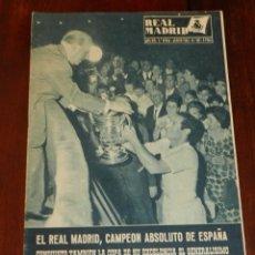 Coleccionismo deportivo: REVISTA OFICIAL REAL MADRID, Nº 147, AGOSTO 1962, TIENE 32 PGS. PROFUSAMENTE ILUSTRADAS Y CON PUBLIC. Lote 215228262