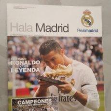 Coleccionismo deportivo: REVISTA HALA MADRID 56 SEPTIEMBRE NOVIEMBRE 2015 CRISTIANO RONALDO. Lote 215605912