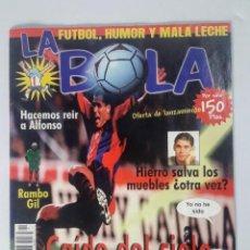 Coleccionismo deportivo: REVISTA DEPORTIVA LA BOLA NÚMERO 1 - 1998. Lote 215666593