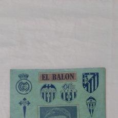 Collectionnisme sportif: SEMANARIO DE FUTBOL EL BALÓN. NÚMERO EXTRAORDINARIO DEDICADO A IPIÑA. 18 DE DICIEMBRE DE 1948.. Lote 215992456