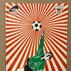 Coleccionismo deportivo: REVISTA DEL IV CONGRESO NACIONAL DE PEÑAS DEL ATHLETIC CLUB DE BILBAO (1976).. Lote 216429968
