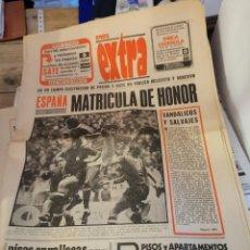 Coleccionismo deportivo: PERIODICO PUEBLO DEPORTES EXTRA. 1 DICIEMBRE 1977. YUGOSLAVIA, CLASIFICACION MUNDIAL ARGENTINA. Lote 216644478