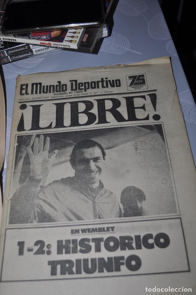 Coleccionismo deportivo: TEMÁTICA SECUESTRO QUINI. AÑO 1981. MUNDO DEPORTIVO, DICEN Y SPORT. 4 EJEMPLARES. - Foto 5 - 216863192