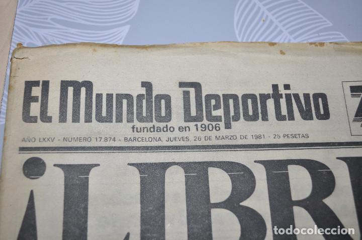 Coleccionismo deportivo: TEMÁTICA SECUESTRO QUINI. AÑO 1981. MUNDO DEPORTIVO, DICEN Y SPORT. 4 EJEMPLARES. - Foto 6 - 216863192