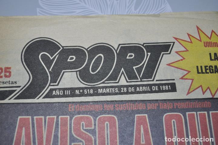 Coleccionismo deportivo: TEMÁTICA SECUESTRO QUINI. AÑO 1981. MUNDO DEPORTIVO, DICEN Y SPORT. 4 EJEMPLARES. - Foto 8 - 216863192