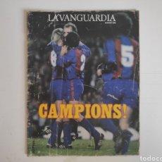 Coleccionismo deportivo: REVISTA LA VANGUARDIA CAMPIONS. 1985. SUPLEMENTO FC. BARCELONA. Lote 217524873