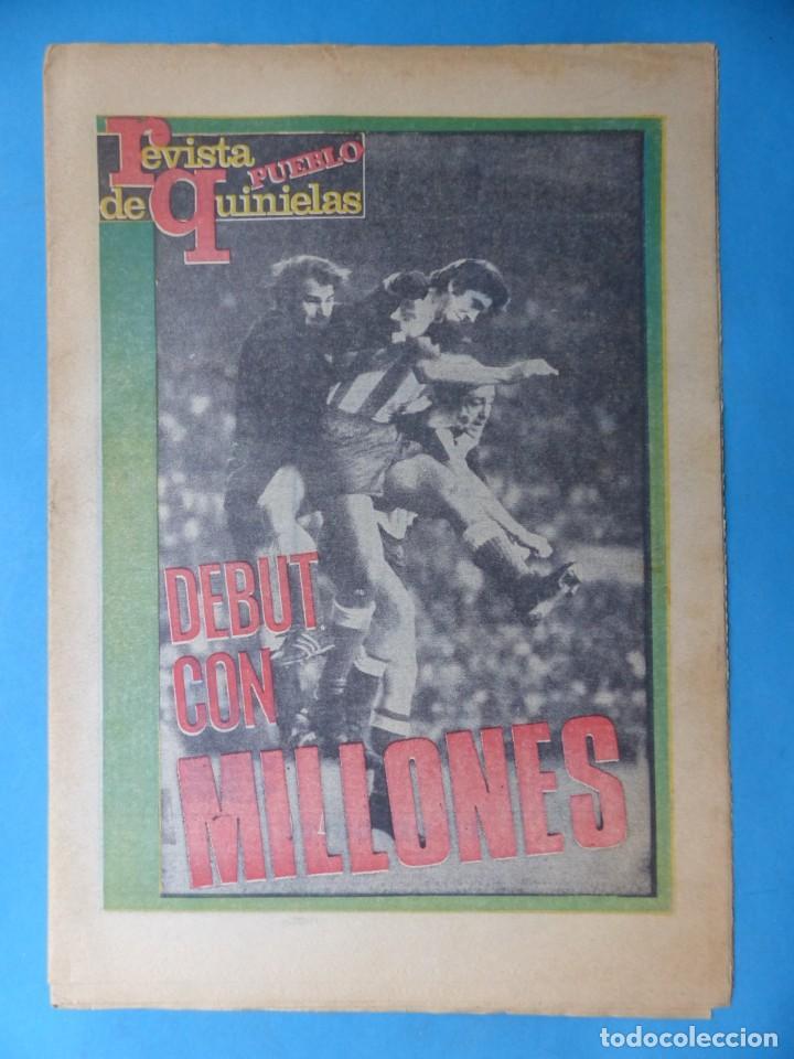 Coleccionismo deportivo: REVISTA PUEBLO DE QUINIELAS - 13 REVISTAS - AÑOS 1970 - VER FOTOS ADICIONALES - Foto 2 - 217735236