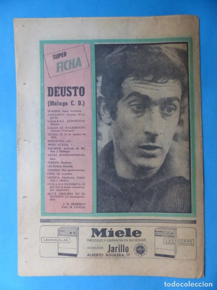 Coleccionismo deportivo: REVISTA PUEBLO DE QUINIELAS - 13 REVISTAS - AÑOS 1970 - VER FOTOS ADICIONALES - Foto 6 - 217735236