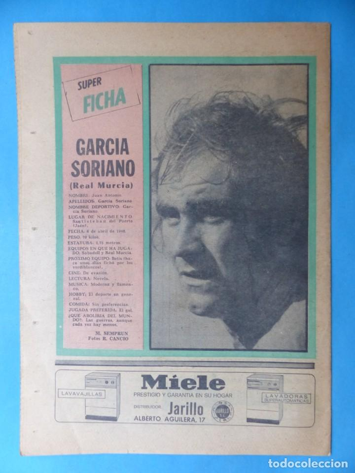 Coleccionismo deportivo: REVISTA PUEBLO DE QUINIELAS - 13 REVISTAS - AÑOS 1970 - VER FOTOS ADICIONALES - Foto 8 - 217735236