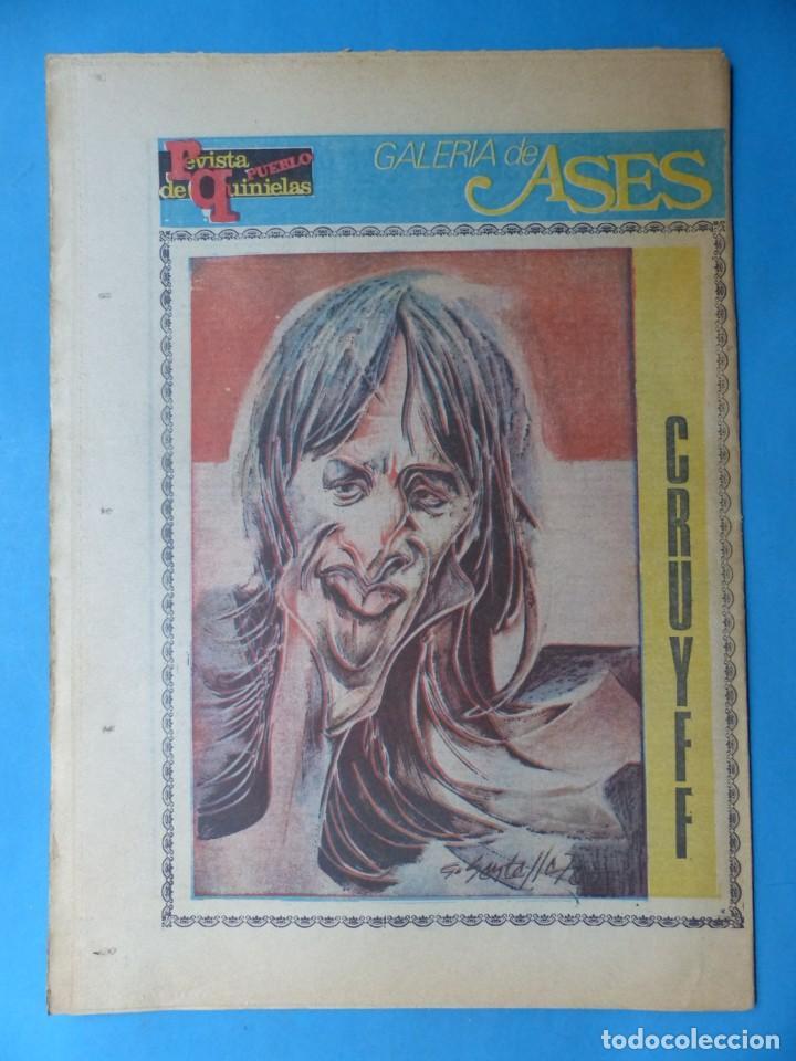 Coleccionismo deportivo: REVISTA PUEBLO DE QUINIELAS - 13 REVISTAS - AÑOS 1970 - VER FOTOS ADICIONALES - Foto 10 - 217735236