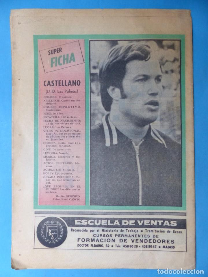 Coleccionismo deportivo: REVISTA PUEBLO DE QUINIELAS - 13 REVISTAS - AÑOS 1970 - VER FOTOS ADICIONALES - Foto 14 - 217735236