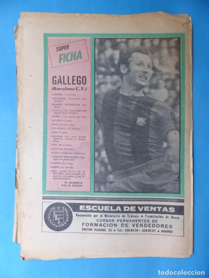 Coleccionismo deportivo: REVISTA PUEBLO DE QUINIELAS - 13 REVISTAS - AÑOS 1970 - VER FOTOS ADICIONALES - Foto 16 - 217735236
