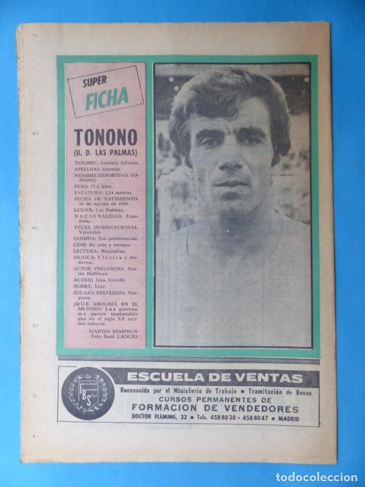 Coleccionismo deportivo: REVISTA PUEBLO DE QUINIELAS - 13 REVISTAS - AÑOS 1970 - VER FOTOS ADICIONALES - Foto 18 - 217735236