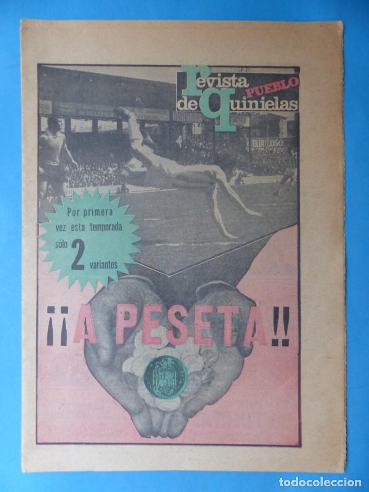 Coleccionismo deportivo: REVISTA PUEBLO DE QUINIELAS - 13 REVISTAS - AÑOS 1970 - VER FOTOS ADICIONALES - Foto 21 - 217735236