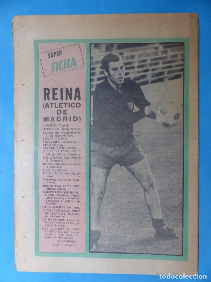 Coleccionismo deportivo: REVISTA PUEBLO DE QUINIELAS - 13 REVISTAS - AÑOS 1970 - VER FOTOS ADICIONALES - Foto 22 - 217735236