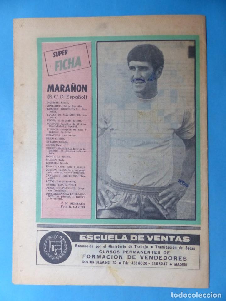 Coleccionismo deportivo: REVISTA PUEBLO DE QUINIELAS - 13 REVISTAS - AÑOS 1970 - VER FOTOS ADICIONALES - Foto 24 - 217735236