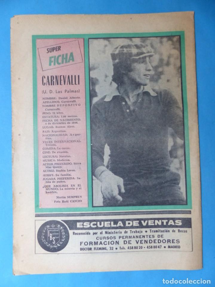 Coleccionismo deportivo: REVISTA PUEBLO DE QUINIELAS - 13 REVISTAS - AÑOS 1970 - VER FOTOS ADICIONALES - Foto 28 - 217735236