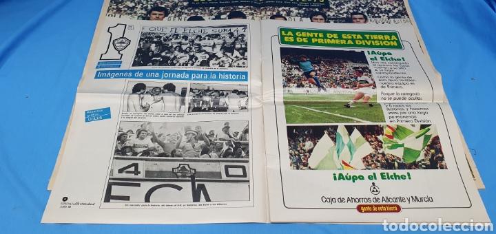 Coleccionismo deportivo: HOMENAJE AL ELCHE - VOLVEMOS A PRIMERA - ESPECIALES LA VERDAD ASCENSOS TEMPORADAS 73 y 84 - Foto 3 - 217890637