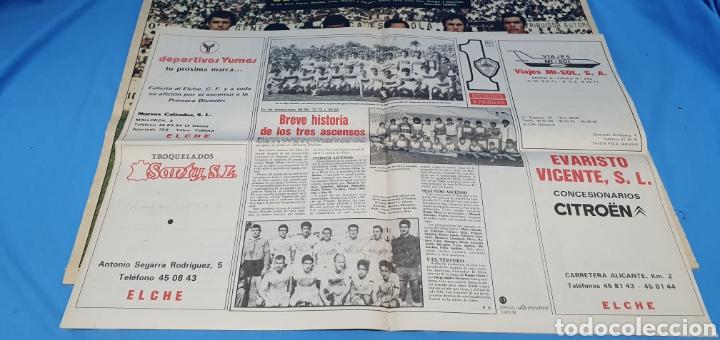Coleccionismo deportivo: HOMENAJE AL ELCHE - VOLVEMOS A PRIMERA - ESPECIALES LA VERDAD ASCENSOS TEMPORADAS 73 y 84 - Foto 4 - 217890637