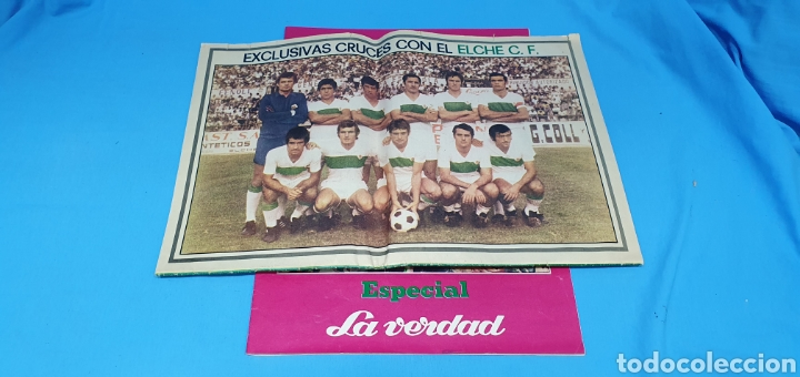 Coleccionismo deportivo: HOMENAJE AL ELCHE - VOLVEMOS A PRIMERA - ESPECIALES LA VERDAD ASCENSOS TEMPORADAS 73 y 84 - Foto 5 - 217890637