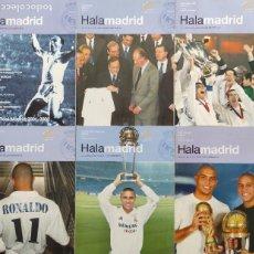 Coleccionismo deportivo: LOTE 6 PRIMEROS NÚMEROS REVISTA HALA MADRID - REAL CAMPEON NOVENA CHAMPIONS - INTERCONTINENTAL 2002. Lote 217926005