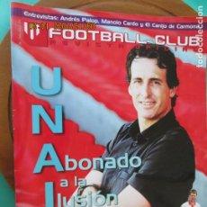 Colecionismo desportivo: FOOTBALL CLUB , REVISTA OFICIAL DEL SEVILLA, Nº 31ULIO 2013 - UNAI EMERY - RUSESCU - PALOP - ETC. Lote 218151132