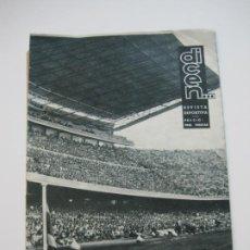 Coleccionismo deportivo: REVISTA DICEN-FC BARCELONA-INAUGURACION DEL ESTADIO-AÑO 1957-VER FOTOS-(V-22.212). Lote 218637962