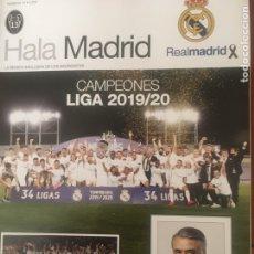Coleccionismo deportivo: HALA MADRID N 74. INCLUYE 2 POSTERS. Lote 218781797