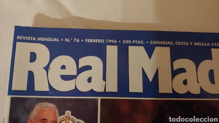 Coleccionismo deportivo: Revista Real Madrid número 76 febrero 1996 - Foto 2 - 218837613