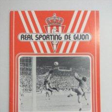 Collectionnisme sportif: BOLETIN INFORMATIVO REAL SPORTING DE GIJON/FUTBOL AÑOS 70.. Lote 219248978