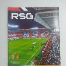 Collectionnisme sportif: REVISTA OFICIAL REAL SPORTING DE GIJON.. Lote 219287077