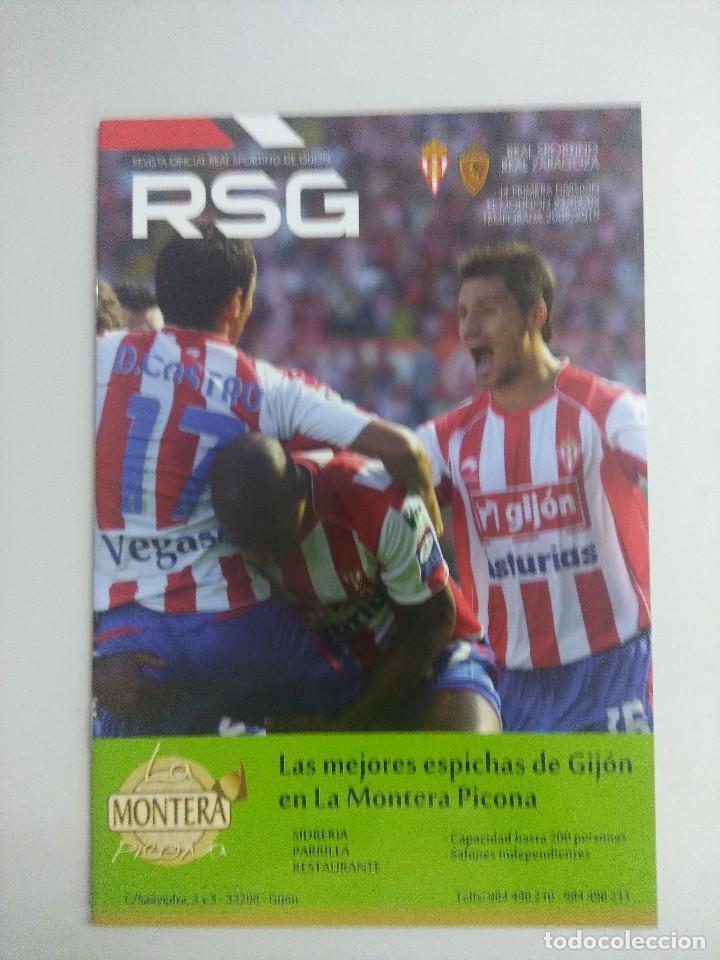 REVISTA OFICIAL REAL SPORTING DE GIJON. (Coleccionismo Deportivo - Revistas y Periódicos - otros Fútbol)