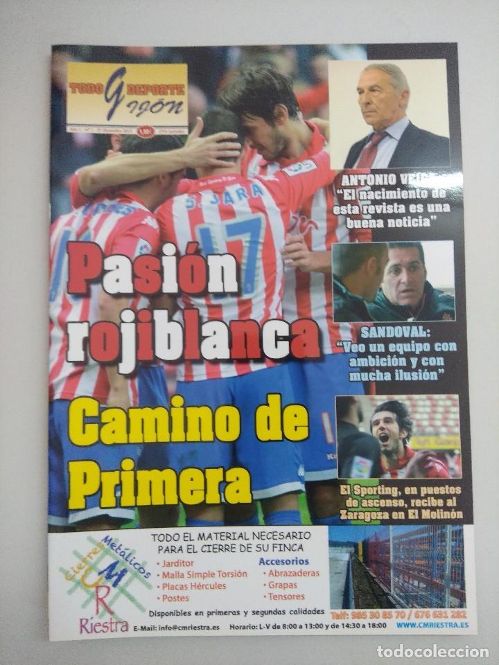 REVISTA SPORTING DE GIJON/FUTBOL. (Coleccionismo Deportivo - Revistas y Periódicos - otros Fútbol)