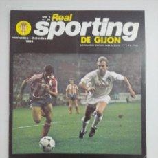 Collectionnisme sportif: REVISTA SPORTING DE GIJON/AÑO 6 Nº54 1985/POSTER CENTRAL EQUIPO SPORTING 86.. Lote 219296425