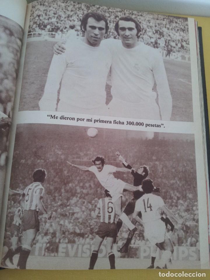 Coleccionismo deportivo: TOMO ENCUADERNADO - REVISTAS DE FUTBOL - VARIOS (ONCE, ÍDOLOS, DEPORTES EN ACCIÓN, AS EXTRA Y FUTGOL - Foto 4 - 219518283