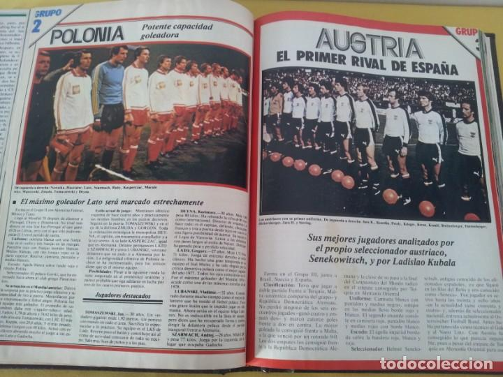 Coleccionismo deportivo: TOMO ENCUADERNADO - REVISTAS DE FUTBOL - VARIOS (ONCE, ÍDOLOS, DEPORTES EN ACCIÓN, AS EXTRA Y FUTGOL - Foto 8 - 219518283