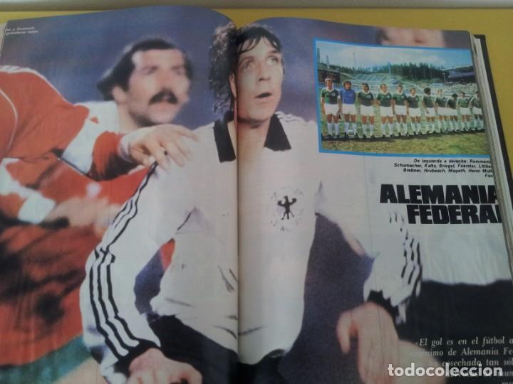 Coleccionismo deportivo: TOMO ENCUADERNADO - REVISTAS DE FUTBOL - VARIOS (ONCE, ÍDOLOS, DEPORTES EN ACCIÓN, AS EXTRA Y FUTGOL - Foto 10 - 219518283