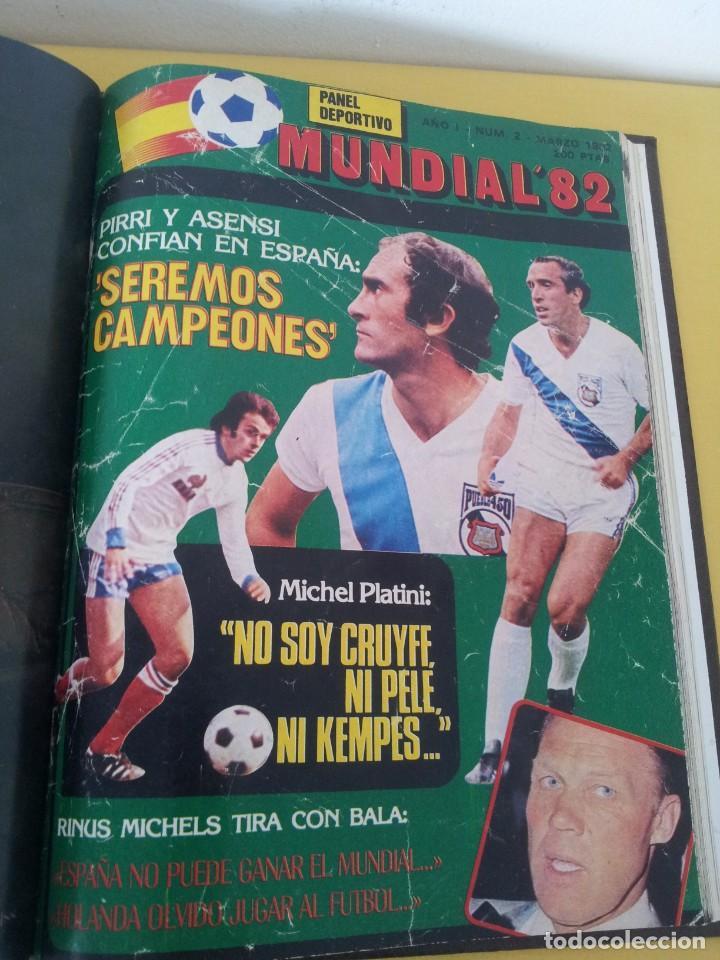 Coleccionismo deportivo: TOMO ENCUADERNADO - REVISTAS DE FUTBOL - VARIOS (ONCE, ÍDOLOS, DEPORTES EN ACCIÓN, AS EXTRA Y FUTGOL - Foto 13 - 219518283